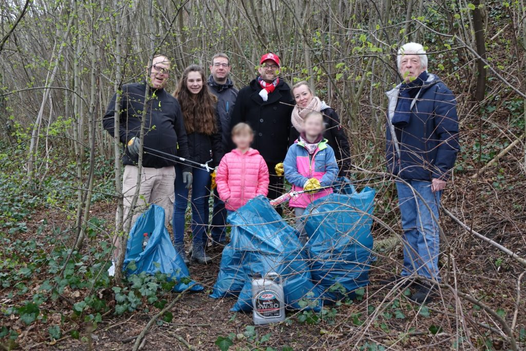 Auch im 20. Jahr nimmt der Ortsverein Kerpen Horrem bei der Müllsammelaktion teil.